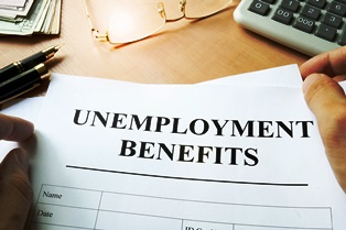 right to workers' compensation benefits and unemployment