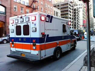 can an ambulance driver be charged with reckless driving in virginia