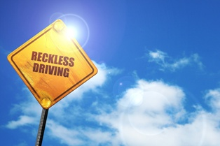 Reckless Driving Sign