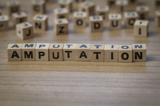 Amputation in Block Letters