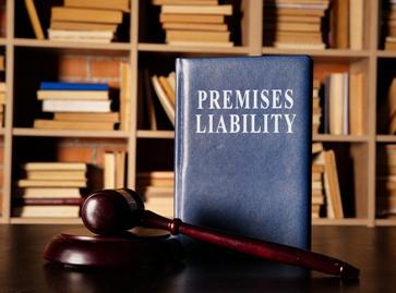 Premises Liability Book and Gavel