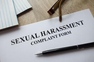 Blank Sexual Harassment Complaint Form for a California Business