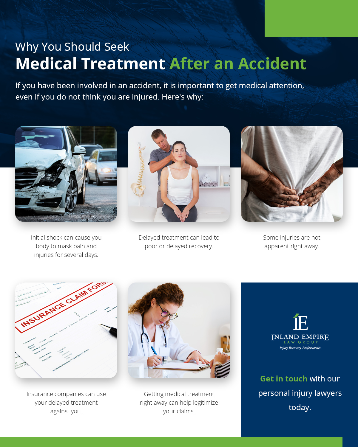 Why you should seek medical treatment immediately after an accident