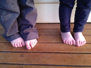 childrens foot pain