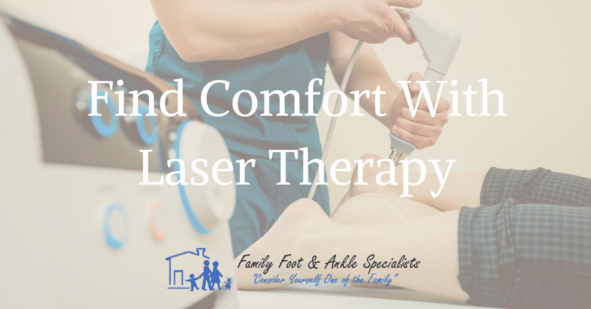 laser therapy for heel pain
