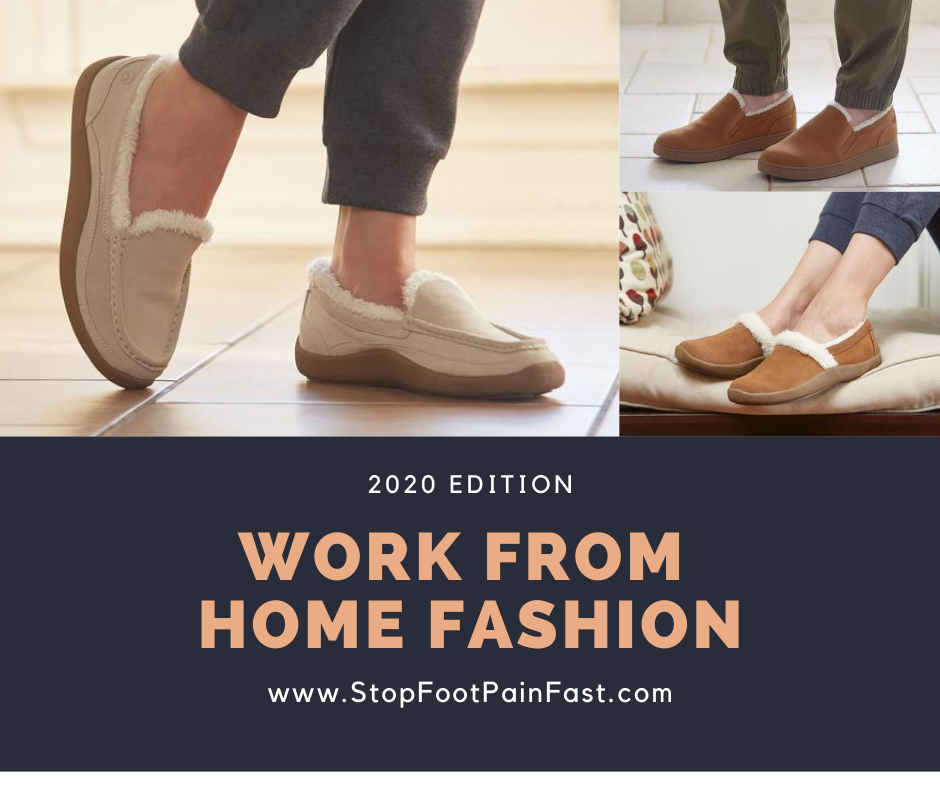 work from home slippers