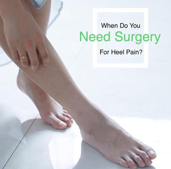 heel pain surgery