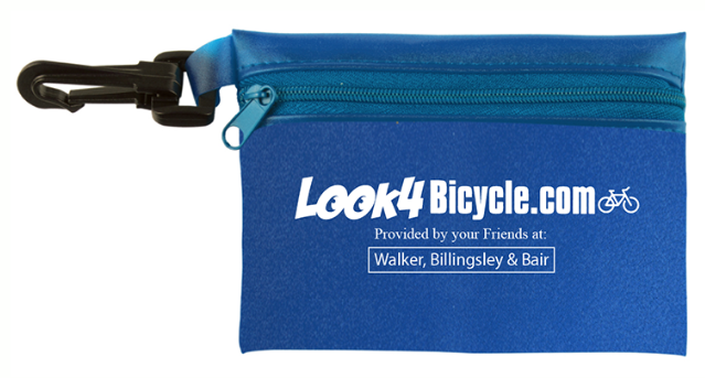 Look4bicycle.com blue first aid kit