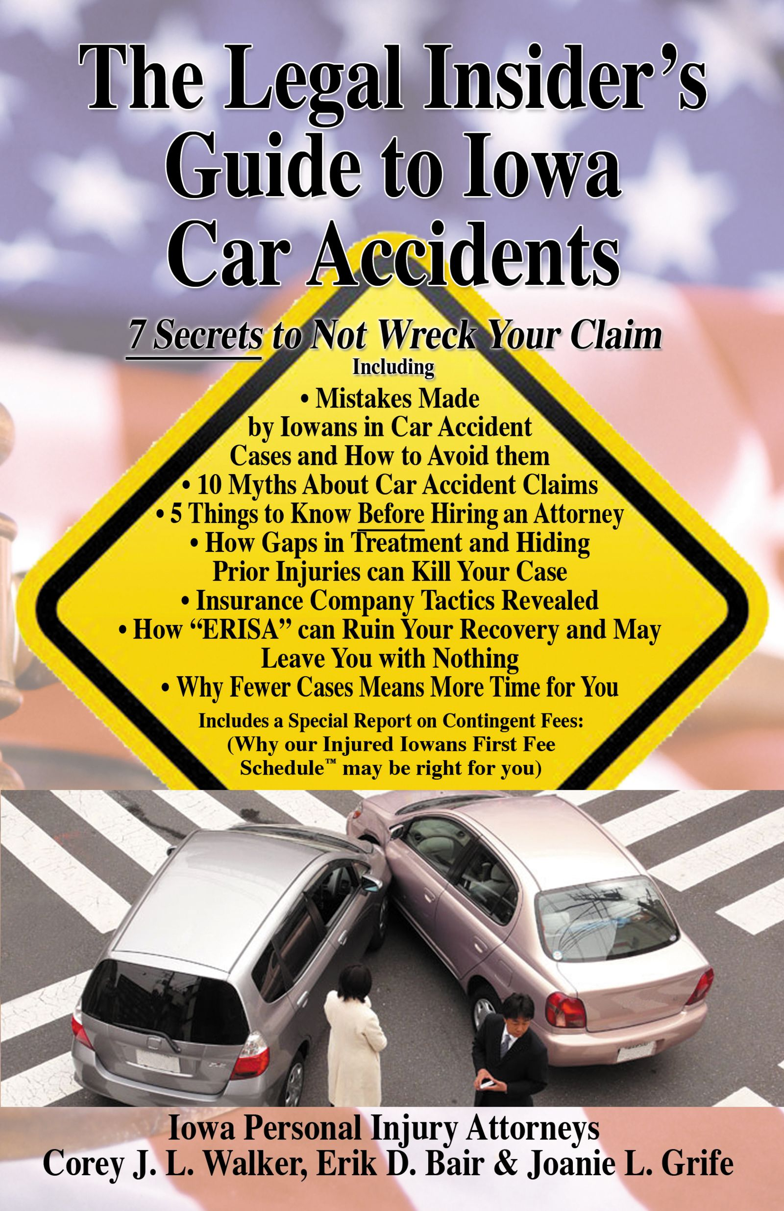 the legal insider's guide to iowa car accidents book written by iowa injury law firm