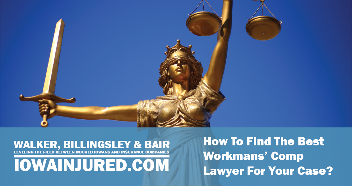 How to find the best workers compensation lawyer for your case Iowa. Golden statue