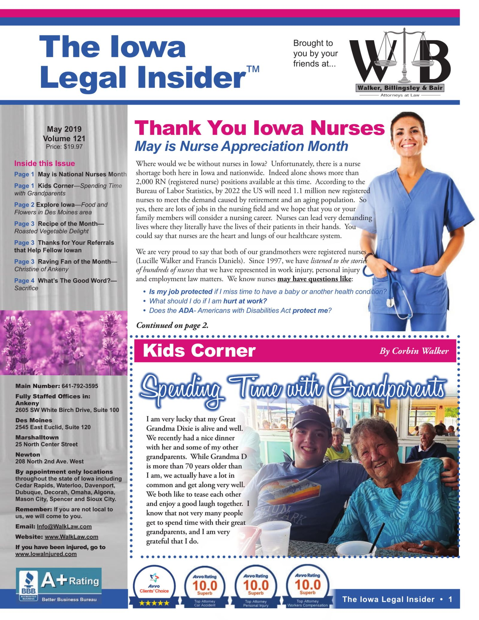 The Iowa Legal Insider Nurse Appreciation Month