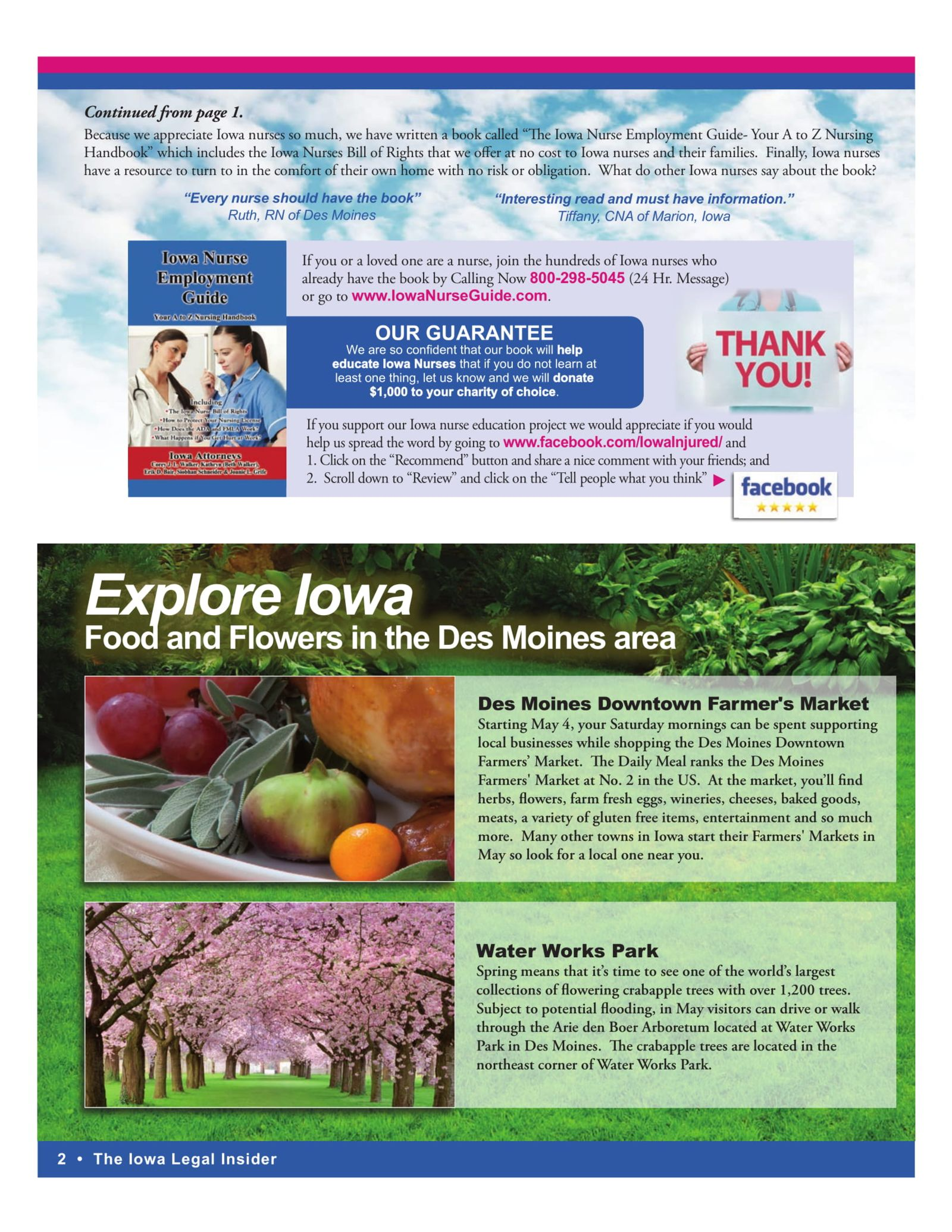 The Iowa Legal Insider Explore Des Moines