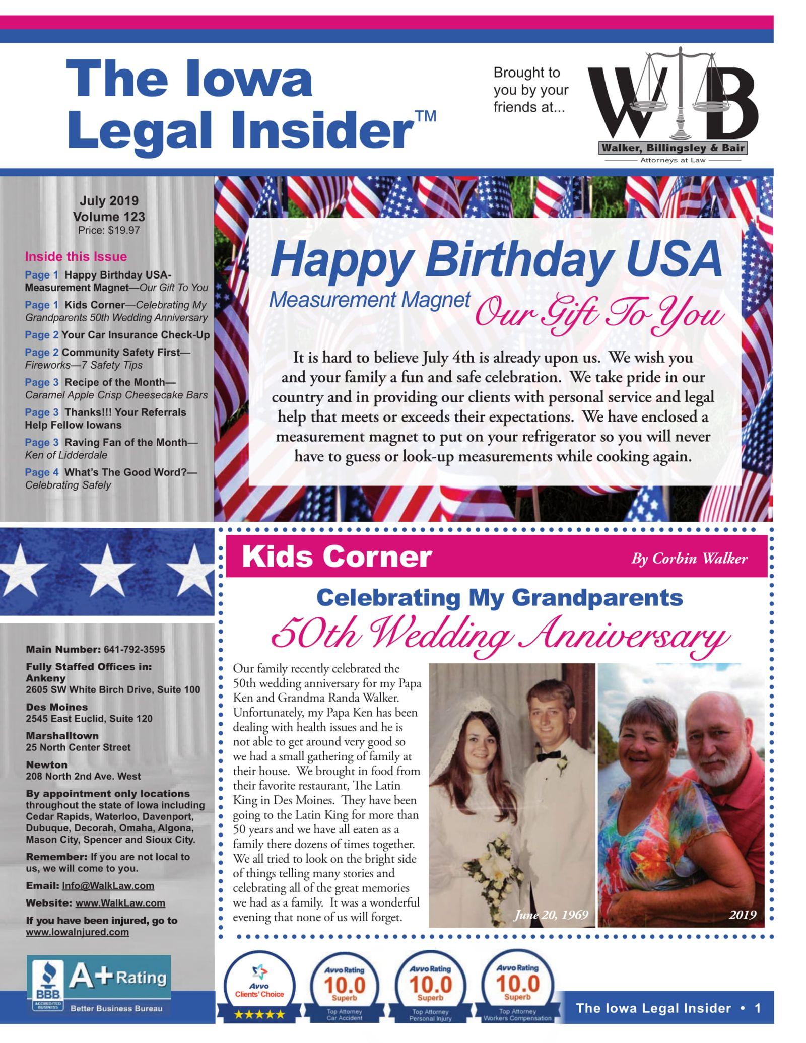 Iowa legal insider fourth of july