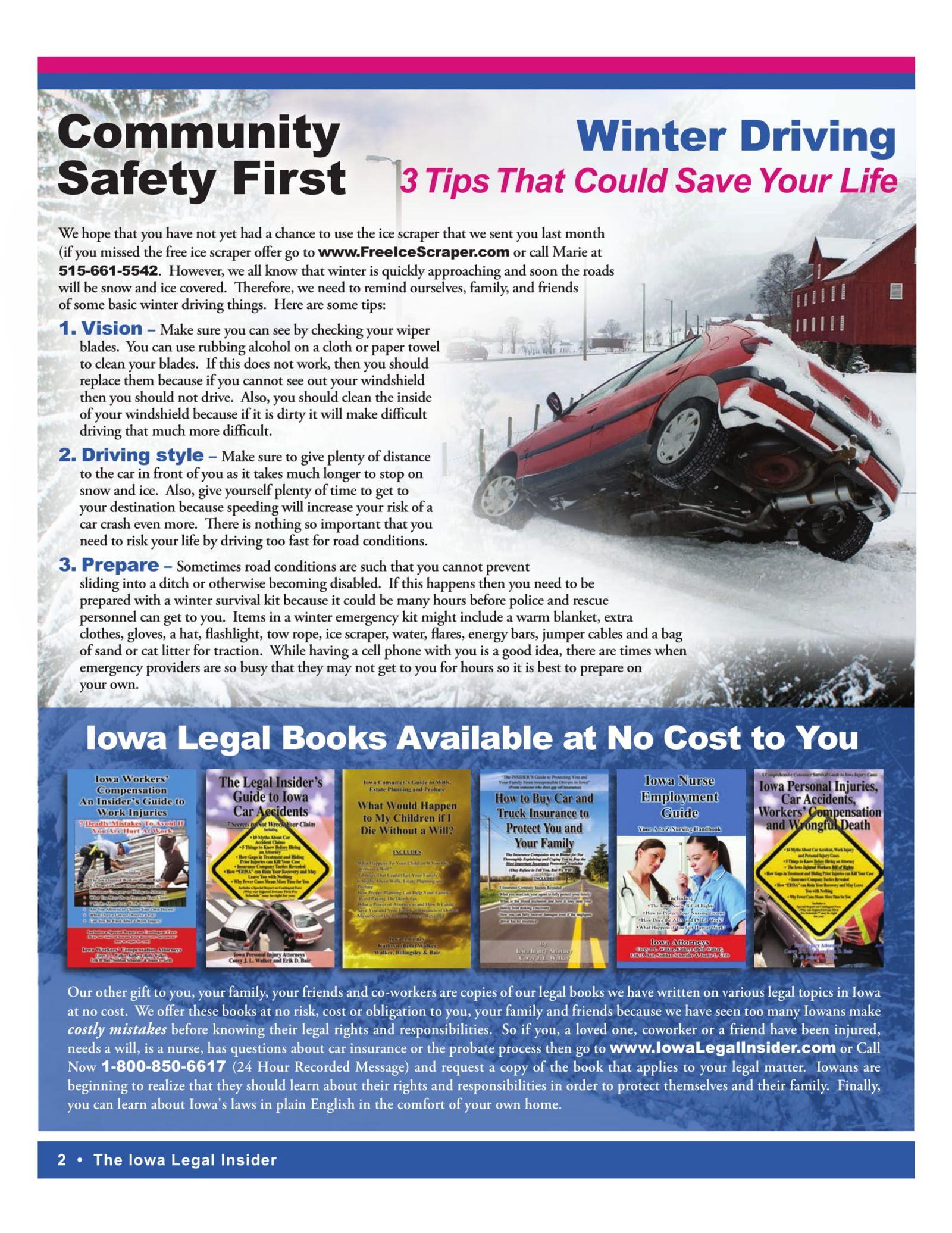 the iowa legal insider 3 winter driving tips