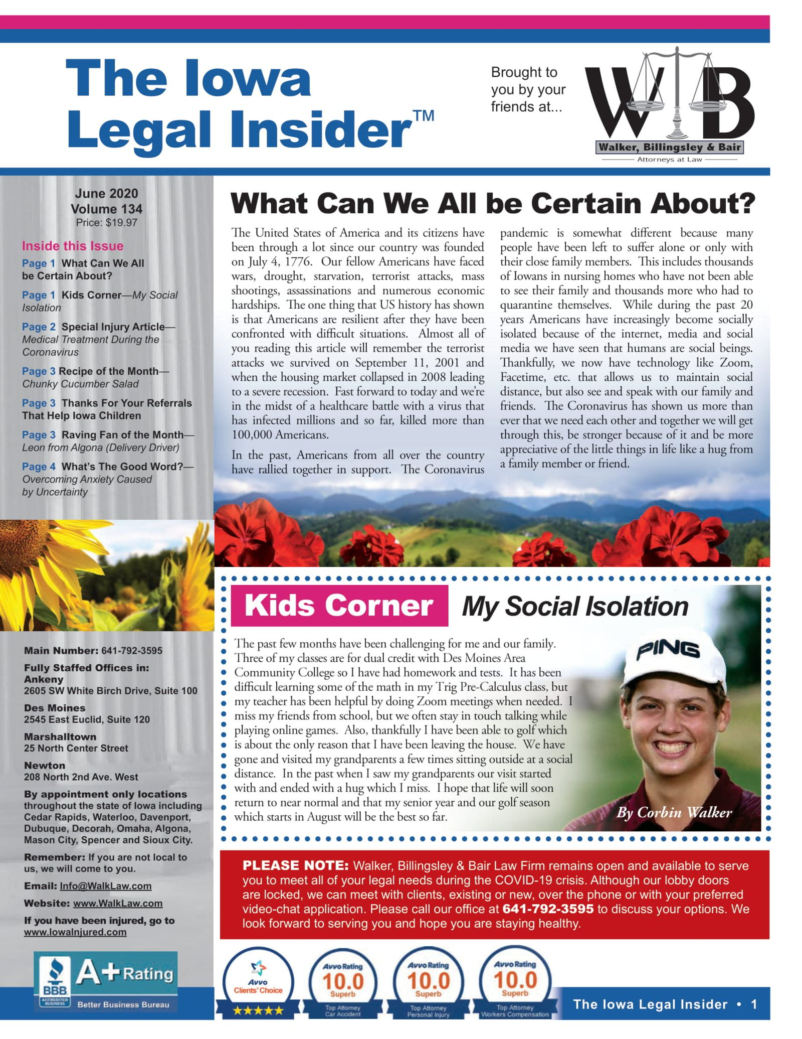 The Iowa Legal Insider