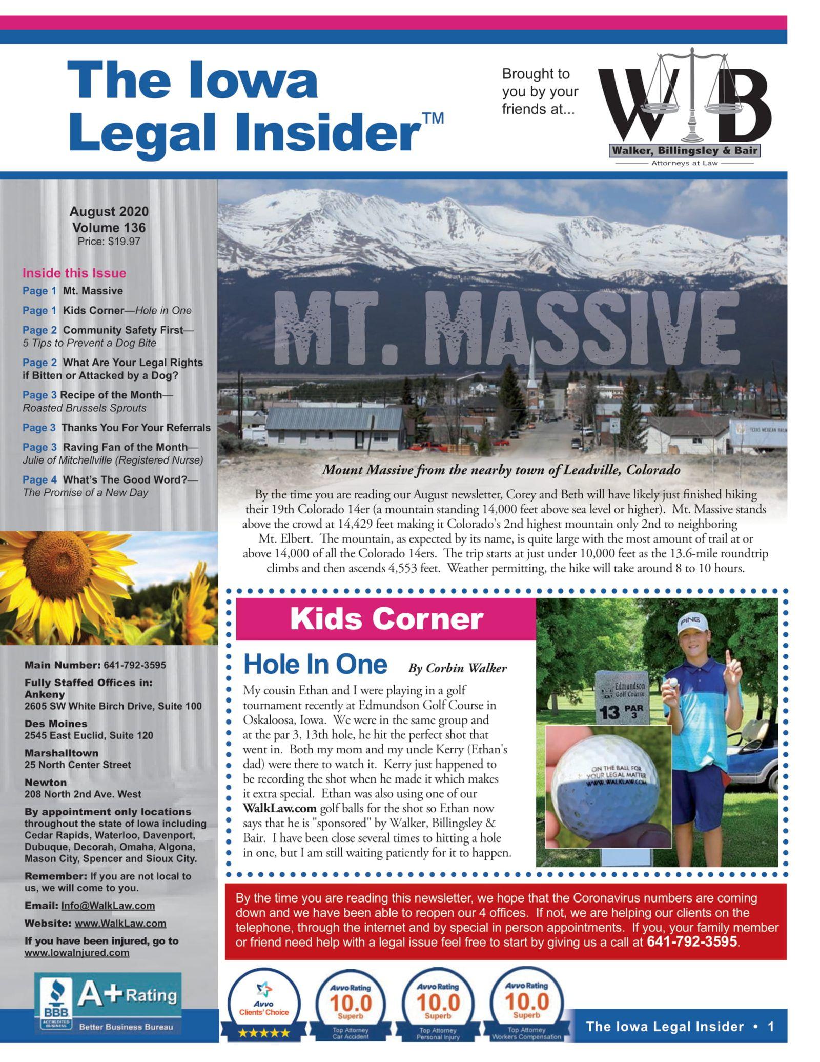 the iowa legal insider mt massive