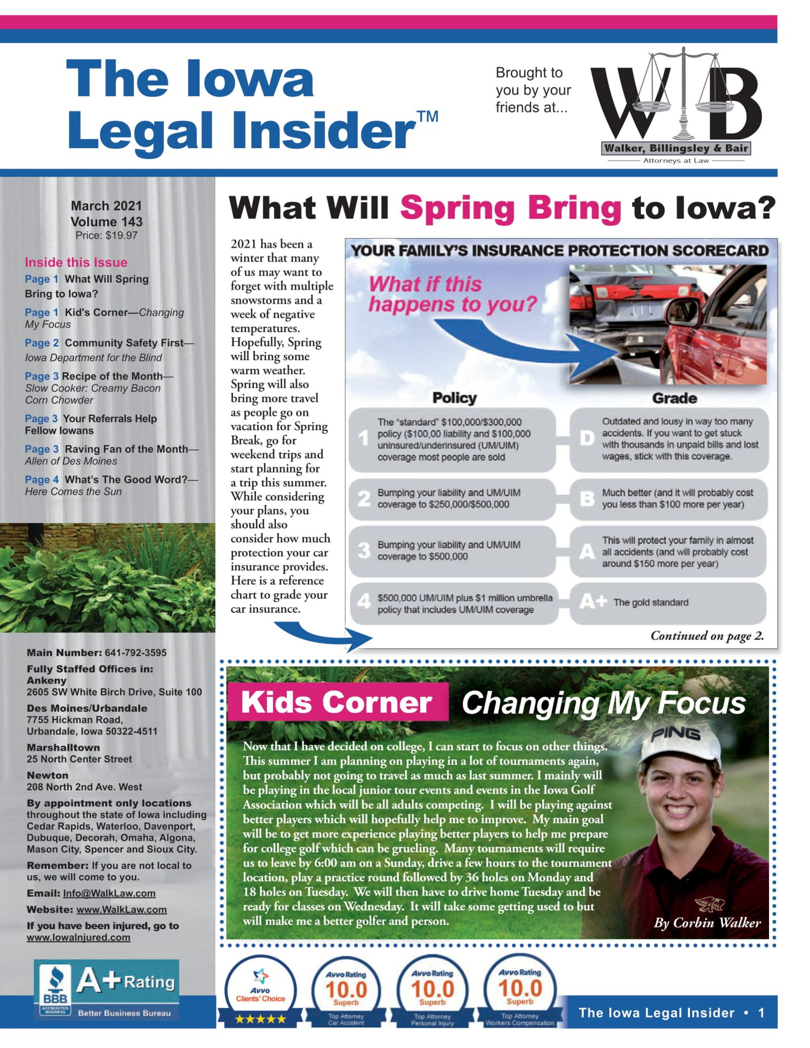 the iowa legal insider what will spring bring to iowa