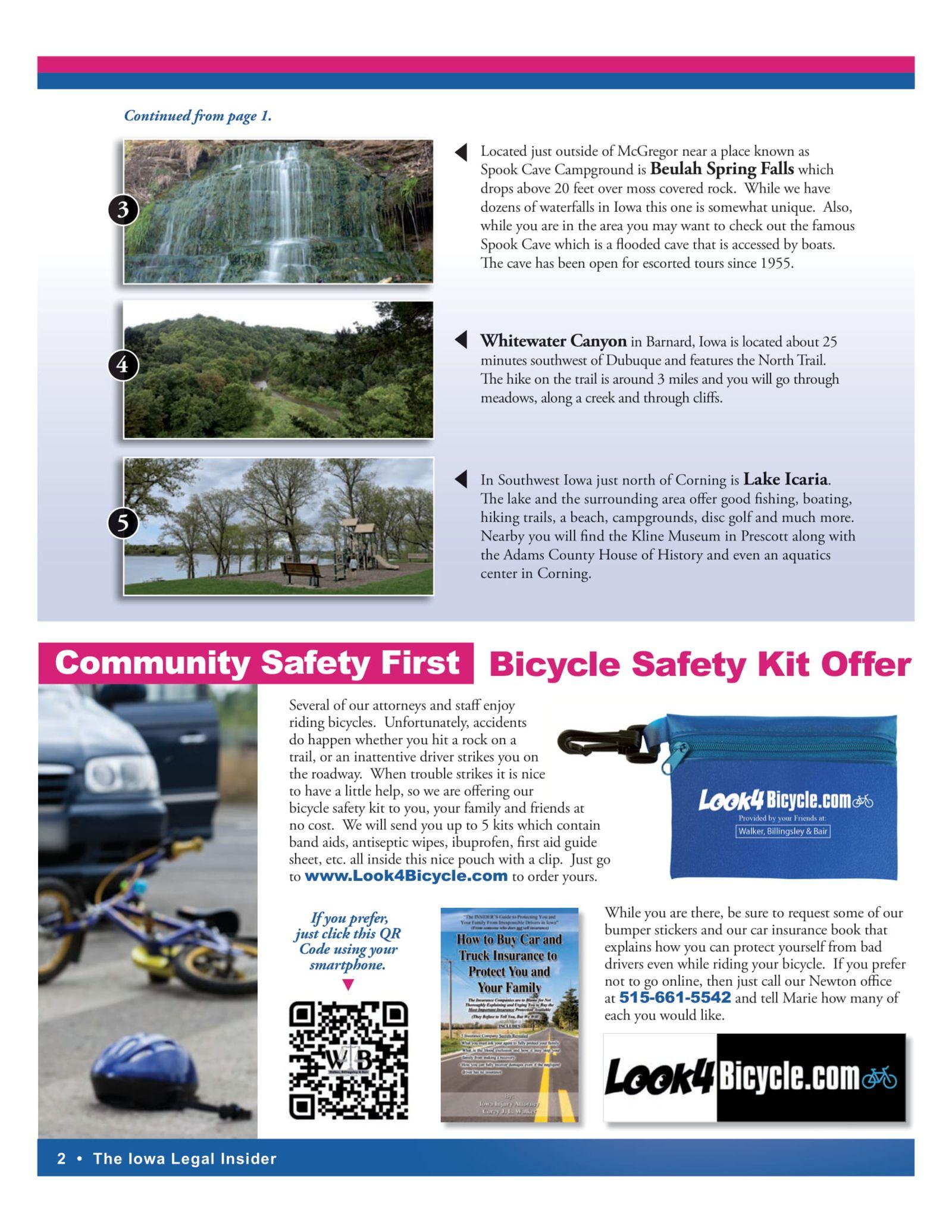 bicycle safety Kit