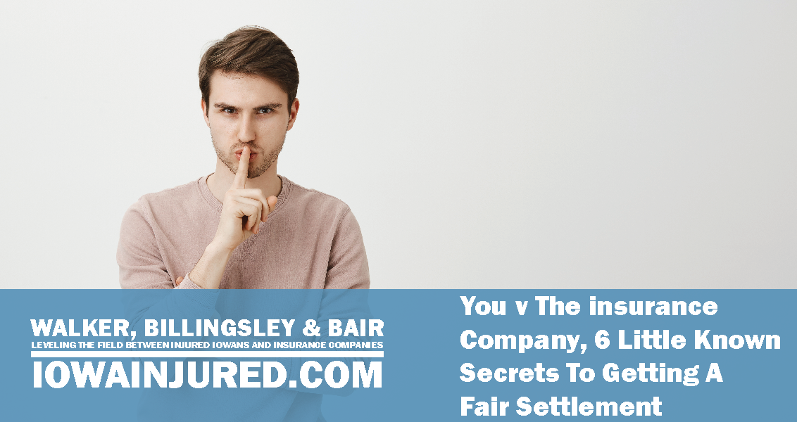 you vs the insurance company secrets to get a fair settlement