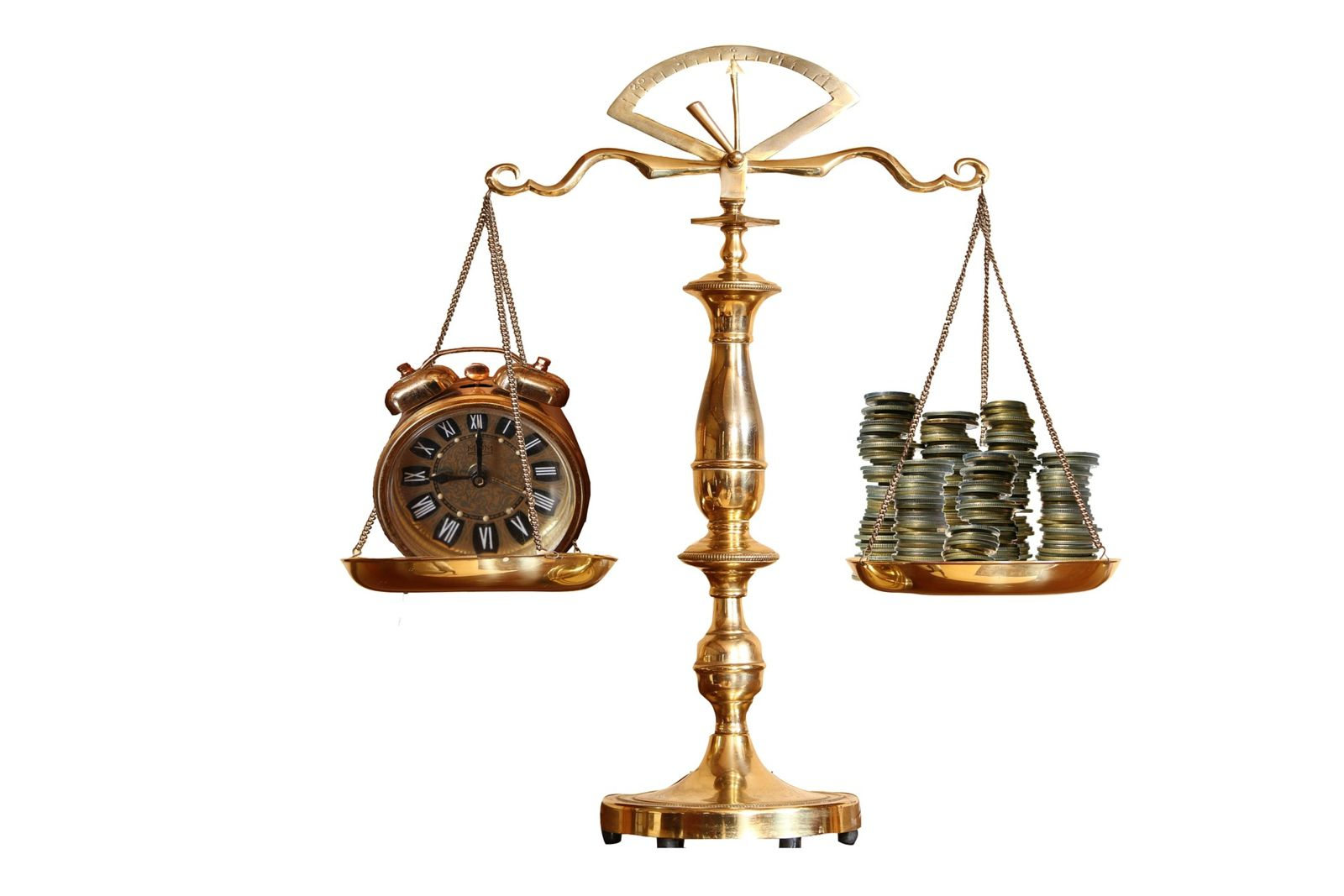 Golden Scale holding time and money