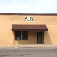 walker, billingsley & bair law office entrance in newton Iowa