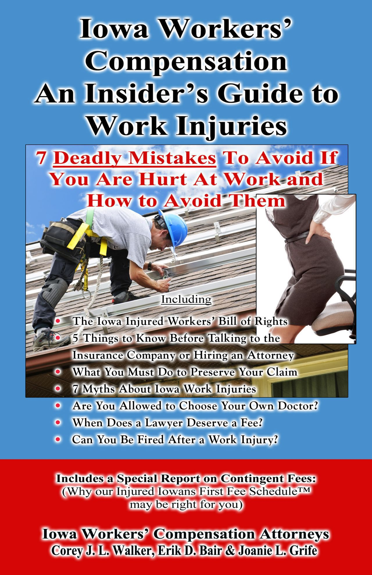 Iowa workers compensation and insider's guide to work injuries book