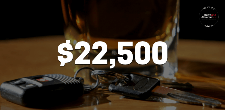 $22,500 for Client Hit by a Drunk Driver