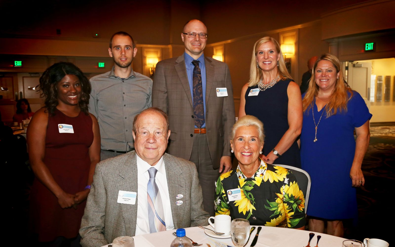 Hupy and Abraham team at 36th Annual Parents of the Year Luncheon