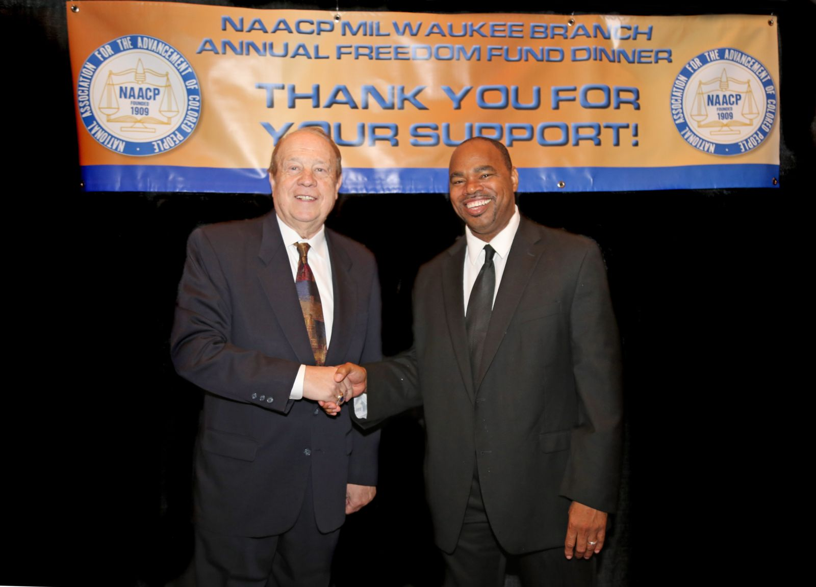 Attorney Michael Hupy at NAACP Freedom Fund Dinner