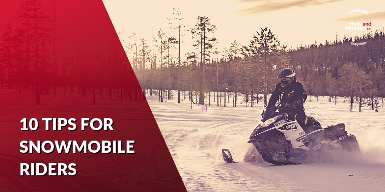 10 tips for safe snowmobiling