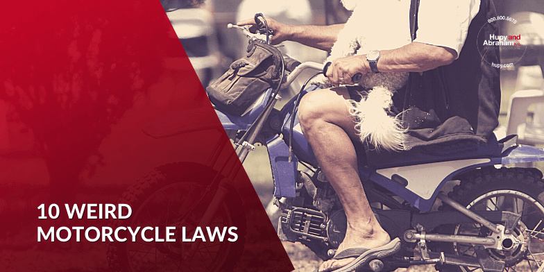 10 Weird Motorcycle Laws