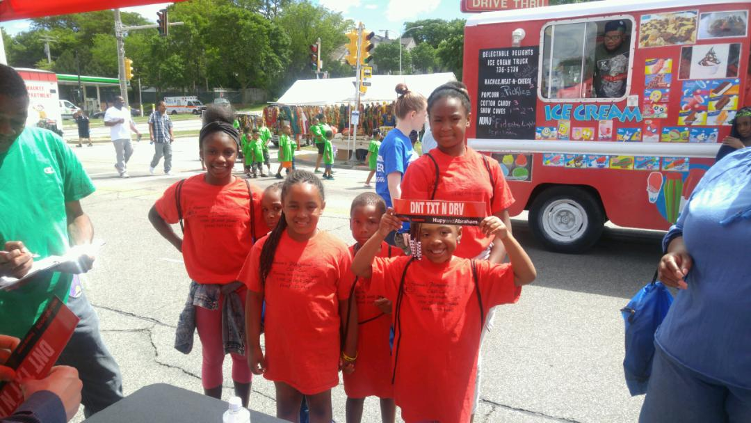 Youth at Juneteenth