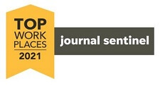 Journal Sentinel Top Workplaces 2021 award logo