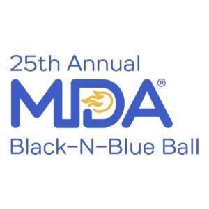 25th annual mda ball logo