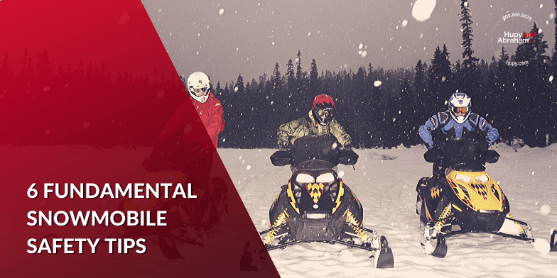 Important Tips for Snowmobile Safety