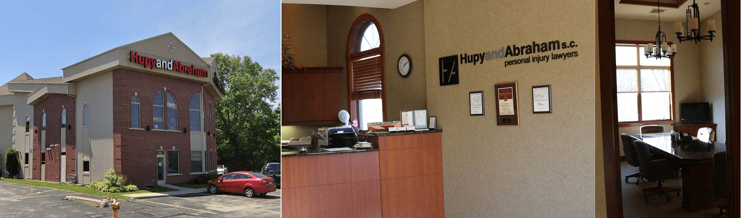 Hupy and Abraham's personal injury law office building in Appleton, WI