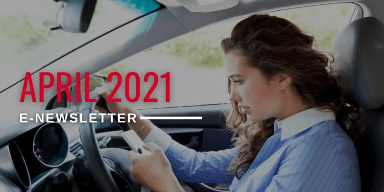 April 2021 E-Newsletter