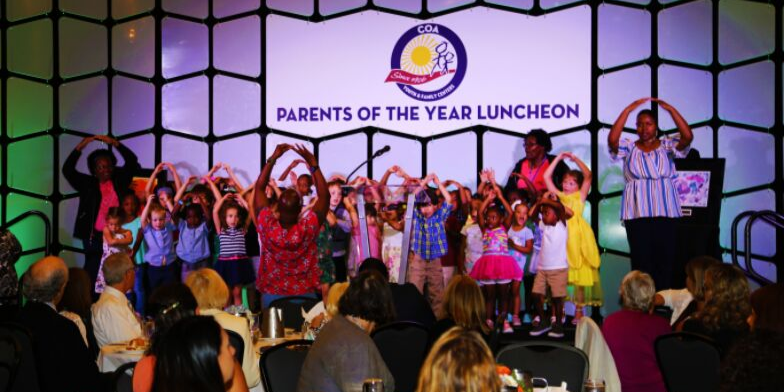 Children Performing at COA Parents of the Year Luncheon