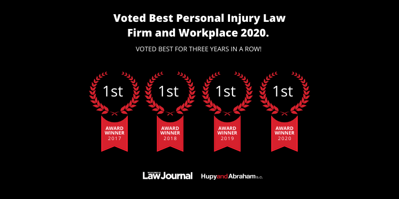Wisconsin Law Journal Reader Rankings Best Personal Injury Law Firm Awards