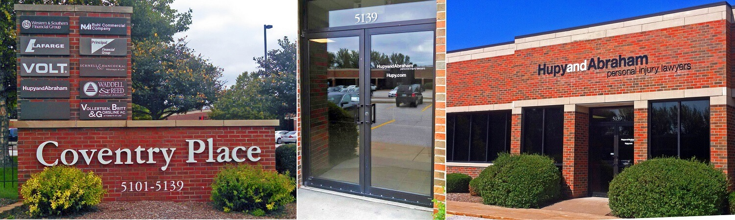 Hupy and Abraham's personal injury law office in Davenport, Iowa