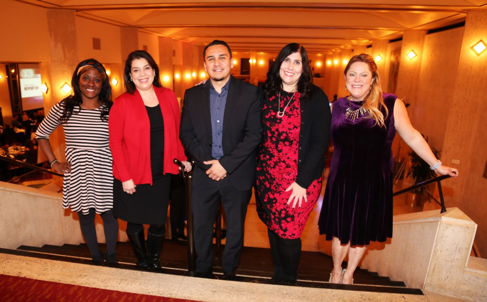Hupy and Abraham employees at Wisconsin Law Journal's Diversity in Business Award Ceremony