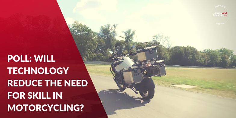 Will Technology Reduce the Need For Skill In Motorcycling?