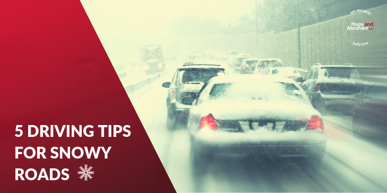 Driving in snowy conditions require extra precautions.