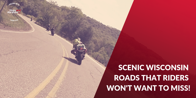 Wisconsin has some great motorcycle roads and destinations.