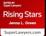 SuperLawyers Rising Stars 2018 award logo
