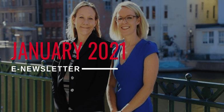 January 2021 E-Newsletter