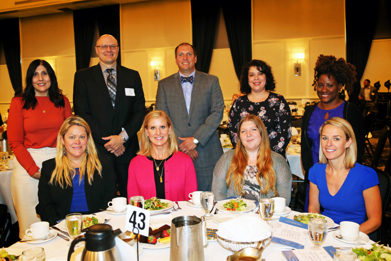 Hupy and Abraham employees at Legal Aid Luncheon