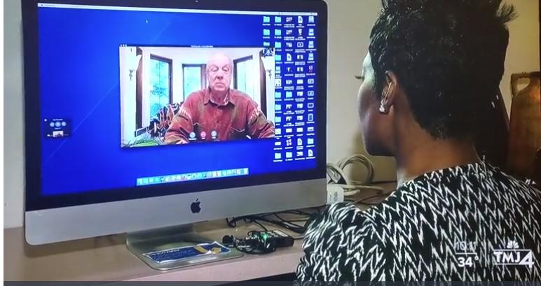Michael Hupy on TMJ4 Video Call