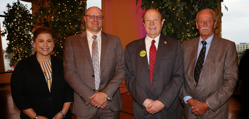Attorney Michael Hupy and Attorney Todd Korb at the Milwaukee County Sheriff Office's 16th Annual Awards Luncheon