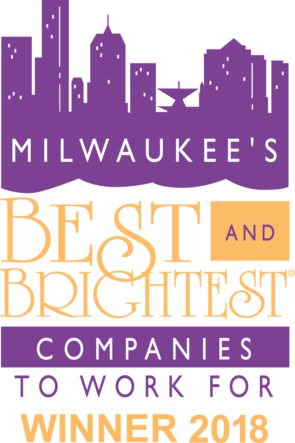 Milwaukee's Best and Brightest Companies Winner 2018